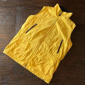Eddie Bauer Yellow Waterproof Vest